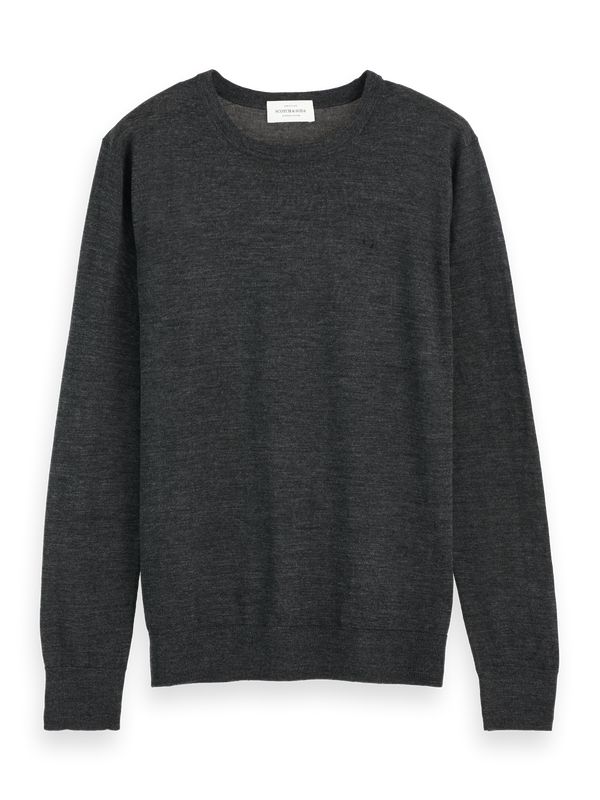 NOS Merino merino wool knit (charcoal melange) - D.O Design Only
