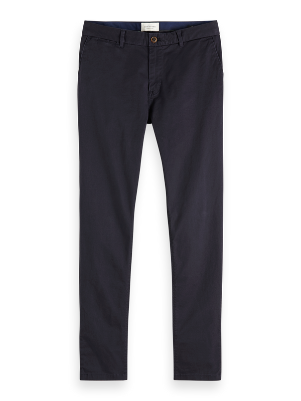 NOS Stuart - Classic regular slim fit chino (Night) - D.O Design Only