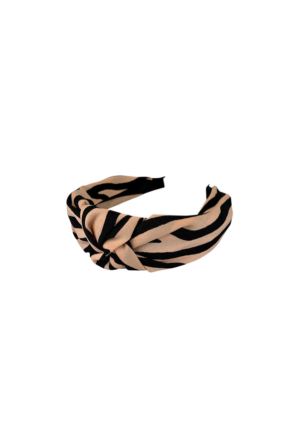 ALLIE zebra headband (rose)