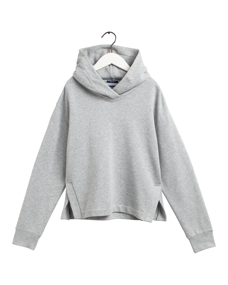 D2. PP HOODIE SWEAT (94 LIGHT GREY MELANGE)