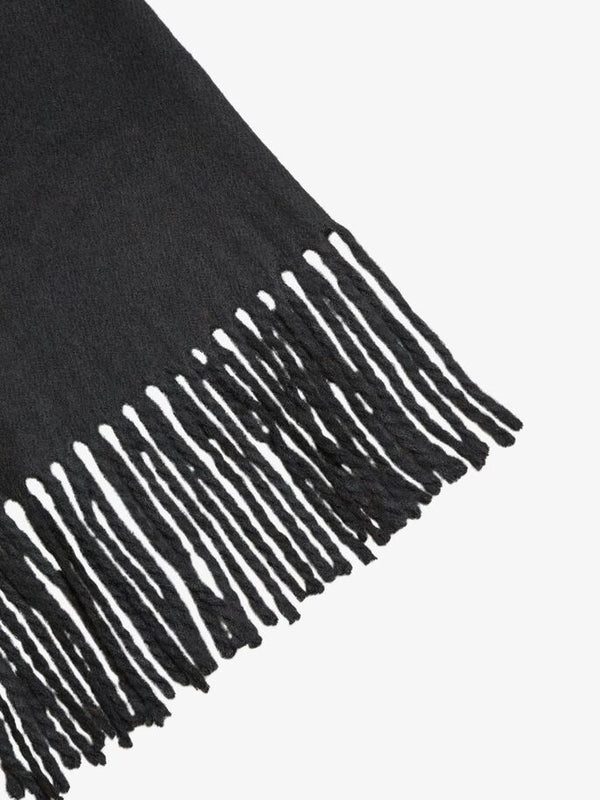 OBJMARILYN WOOL SCARF NOOS (BLACK)