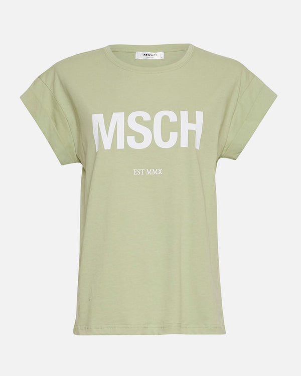Alva MSCH STD Seasonal Tee (RESEDA/WHITE)