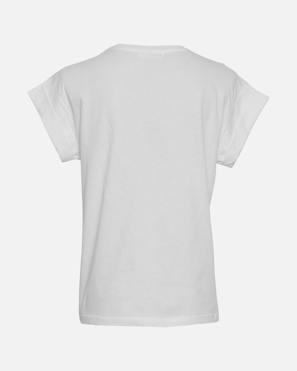 Alva MSCH STD Tee (WHITE/BLACK)