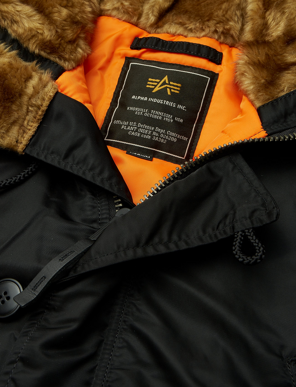 PPS N3B long jacket (241 black/Orange)