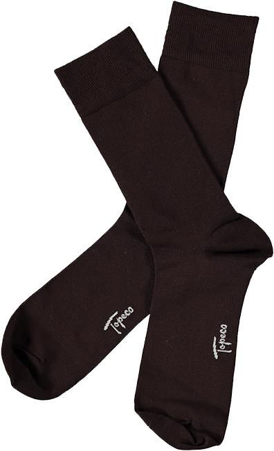 SOCK SOLID, BAMBOO (793 DARK BROWN)