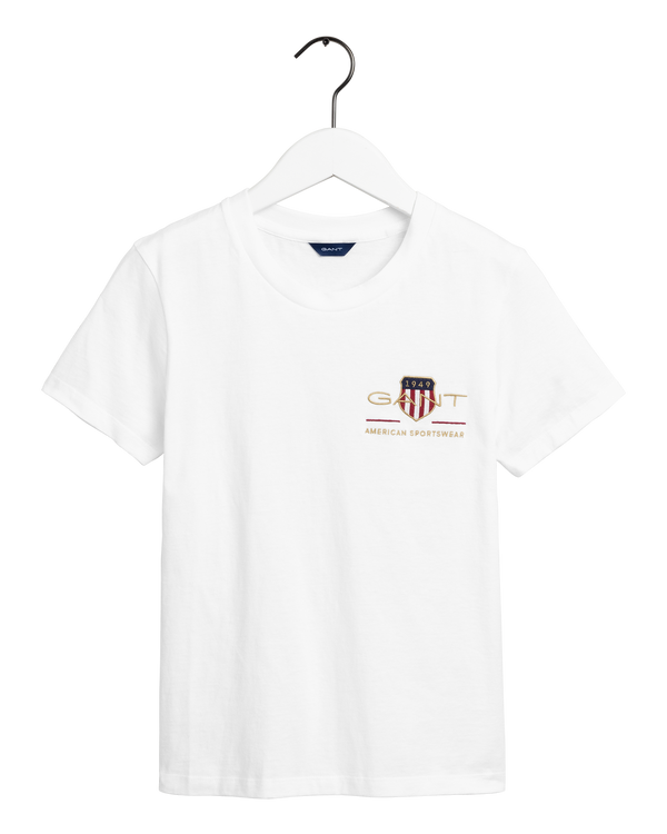 D2. ARCHIVE SHIELD SS T-SHIRT (110 White)