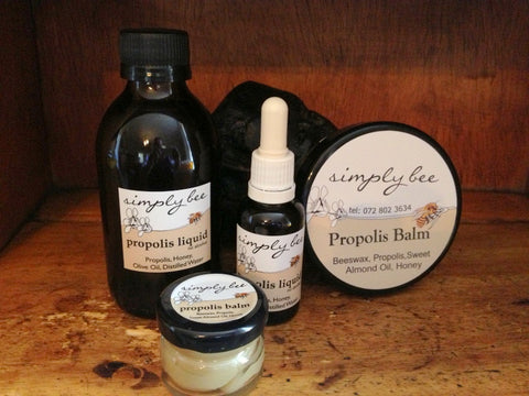 Simply Bee Propolis products