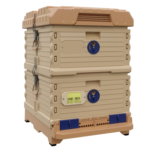 Ergo PLUS Double Brood Box Beehive Set - Apimaye