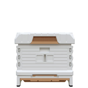 Ergo PLUS White Single Box Beehive Set - Apimaye