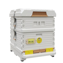 Load image into Gallery viewer, Ergo Plus White Hybrid Beehive Set - Apimaye