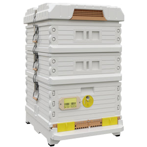 Ergo Plus White Honey Maker Beehive Set - Apimaye