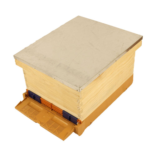 KO1 Complete Wooden Hive with Apimaye Bottom Board - Apimaye