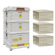 Load image into Gallery viewer, Ergo Plus White Simplicity Honey & Brood Beehive Set - Apimaye