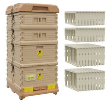 Load image into Gallery viewer, Ergo Plus Honey & Brood Beehive Set - Apimaye