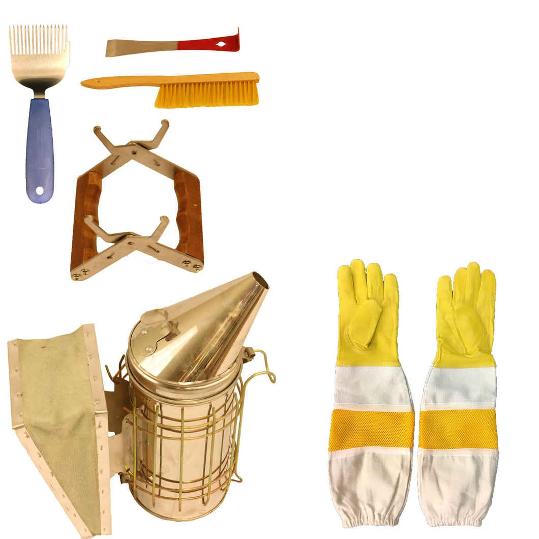 Beekeeping Supplies Tool Bundle - Apimaye