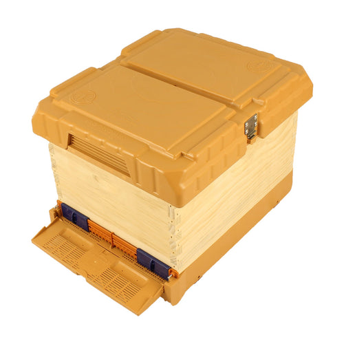 KO1 Wooden Hive with Apimaye Hive Upgrade Kit - Apimaye