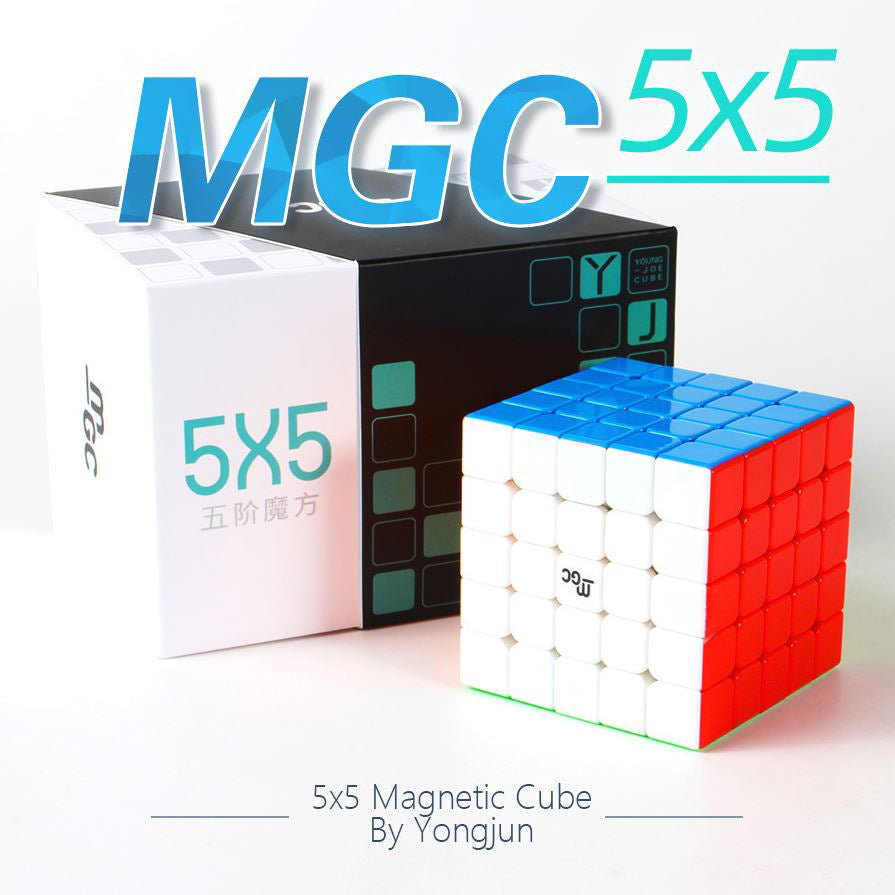 YJ MGC 5X5 Magnetic Stickerless