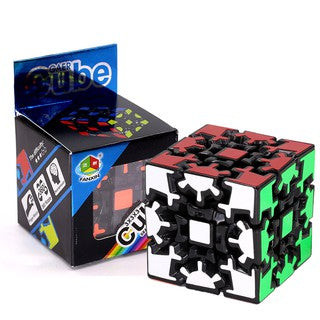 Fanxin Gear Cube 3x3 Speed Rubik's Cube Black