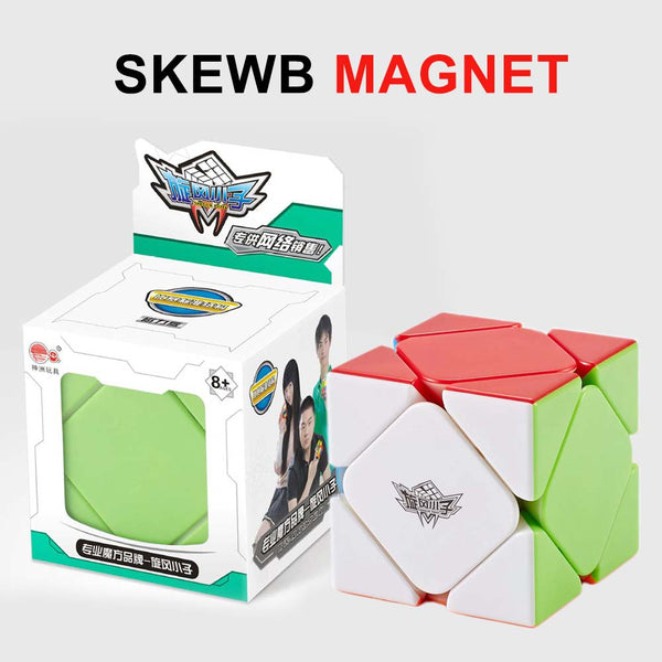 Cyclone Boys Stickerless Magnetic 3x3x3 Skewb