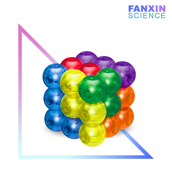 Fanxin DIY Round magnetic 3x3 building blocks cube ball