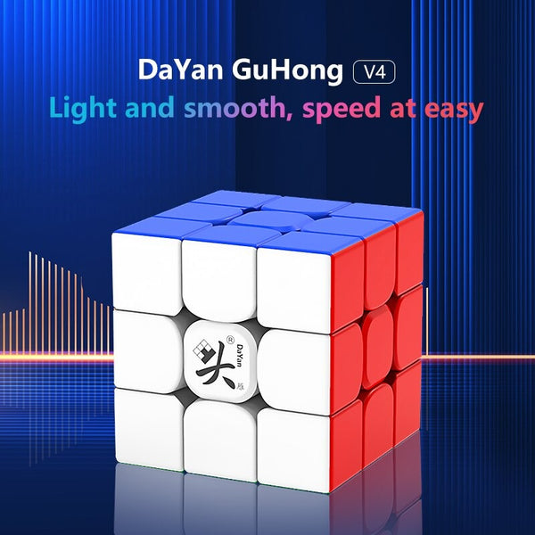 DaYan GuHong V4 Magnetic 3x3 Stickerless
