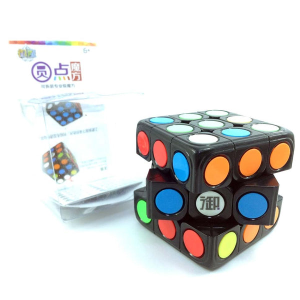High Quality! KungFu Dot Yuandian 3x3 Removable CUBE