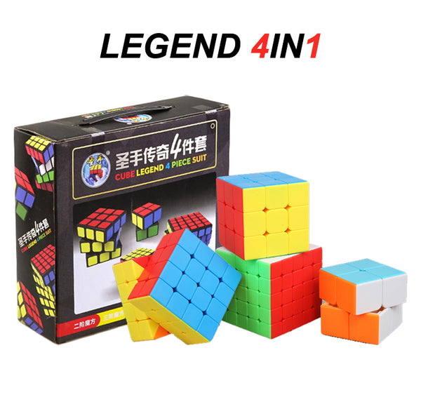 ShengShou 4in1 Legend S Bundle 2x2 3x3 4x4 5x5
