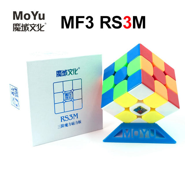 MF3 RS3 M 3x3 Magnetic 3x3x3 MF3RS3M Black/Stickerless