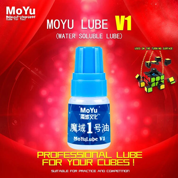 MoYu 5ML No.1 Lubricant Lube Oil for Magic Cube - Blue Bottle