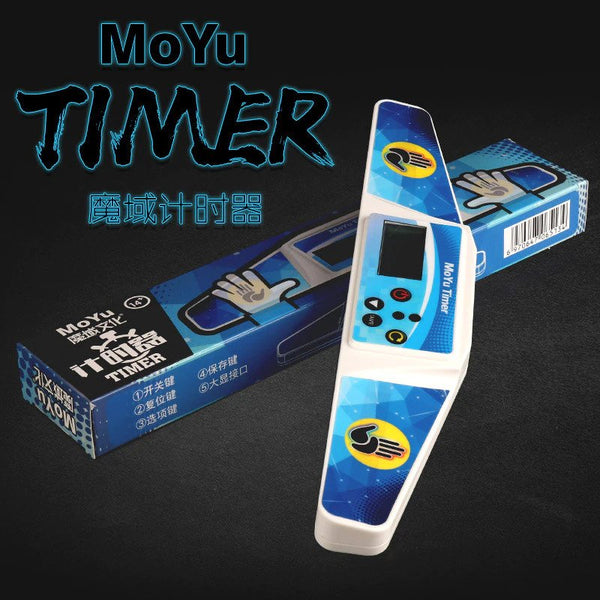MoYu WenHua MF Timer Display Professional Free 1 Pair Battery AAA