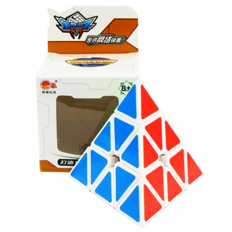 Promotion price! Cyclone Boys Pyraminx White