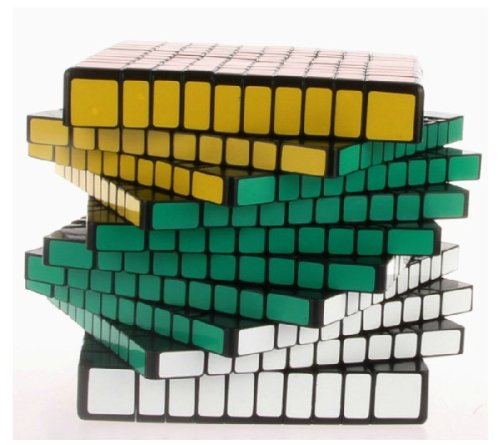 New!! Shengshou 10x10x10 Speed Cube Puzzle 10x10 ,Black