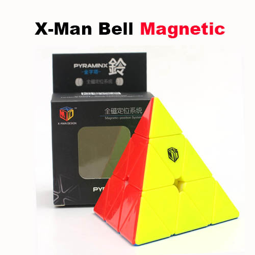 X-Man Pyraminx Bell Megnetic 3x3 Triangle X Man