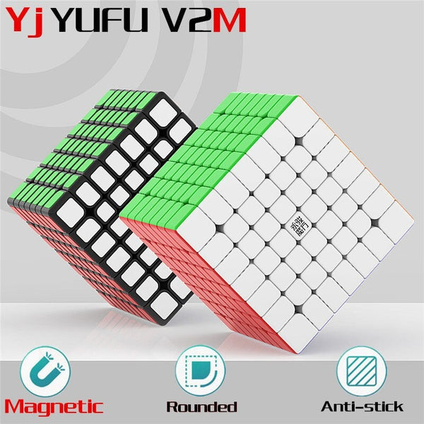 YJ YuFu V2 M 7x7 v2m magnetic Stickerless
