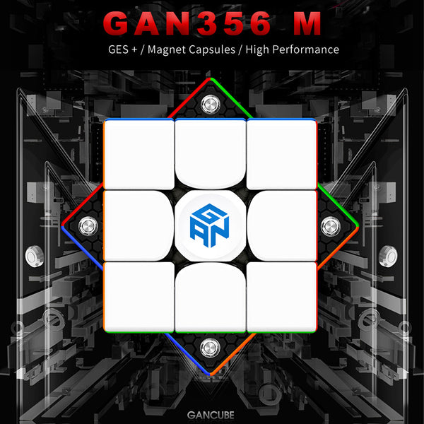 GAN356 M 3x3 Standard and Light Weighted Edition GAN 356 Magnetic