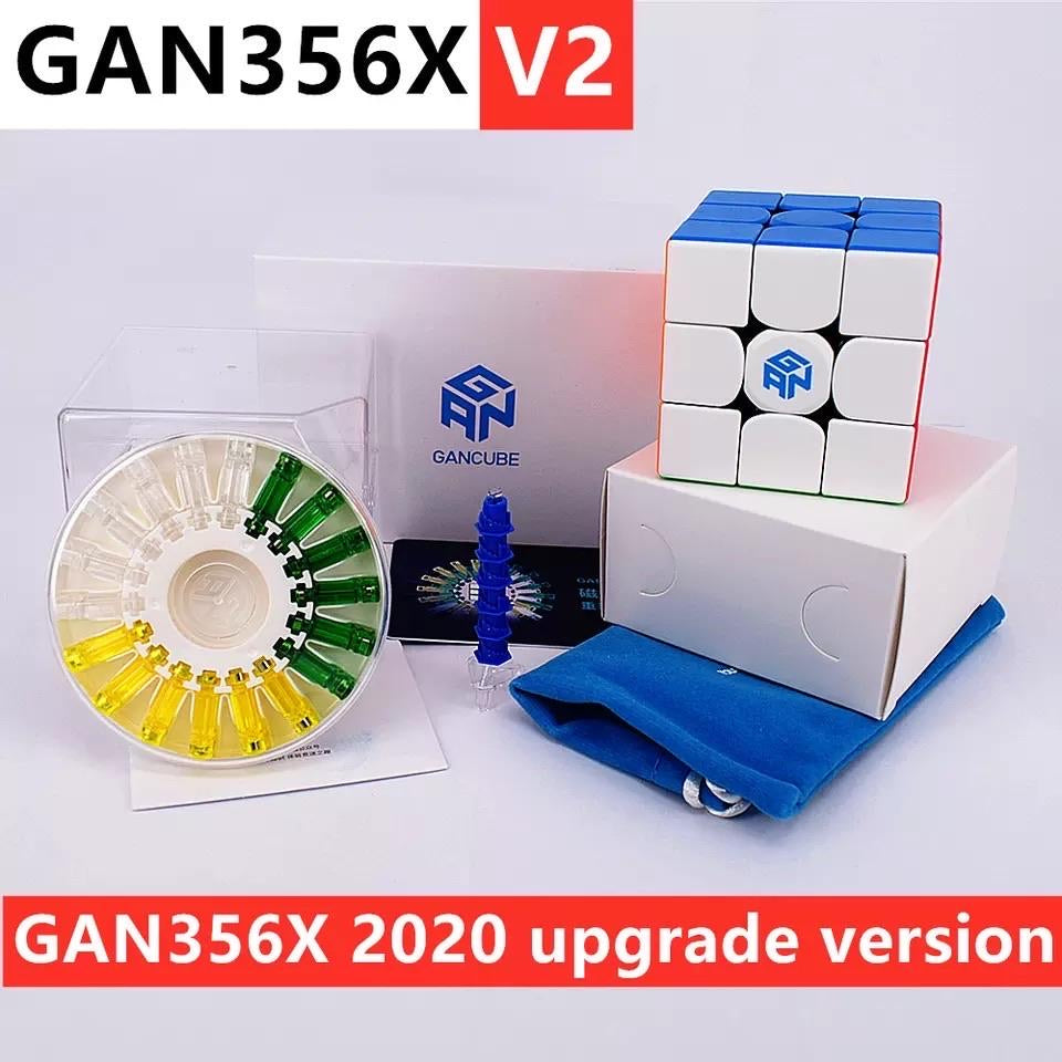 GAN X 2.0 GAN 356 X V2 3x3 Magnetic Numerical IPG Updated