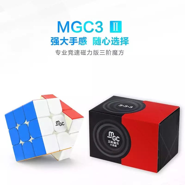 YJ MGC3 V2 Magnetic 3x3 Stickerless