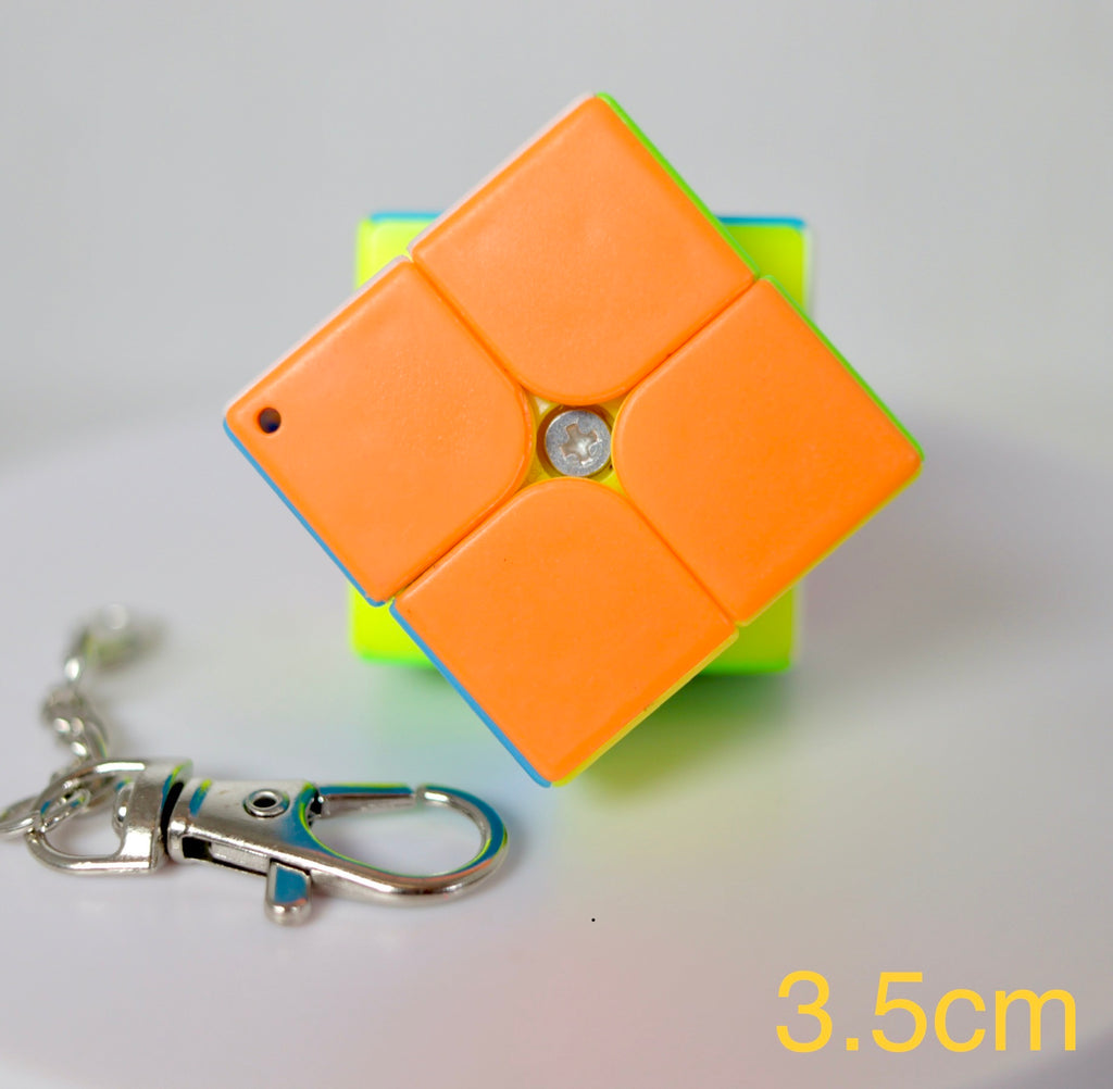Mini Keychain 2x2 3.50cm Stickerless
