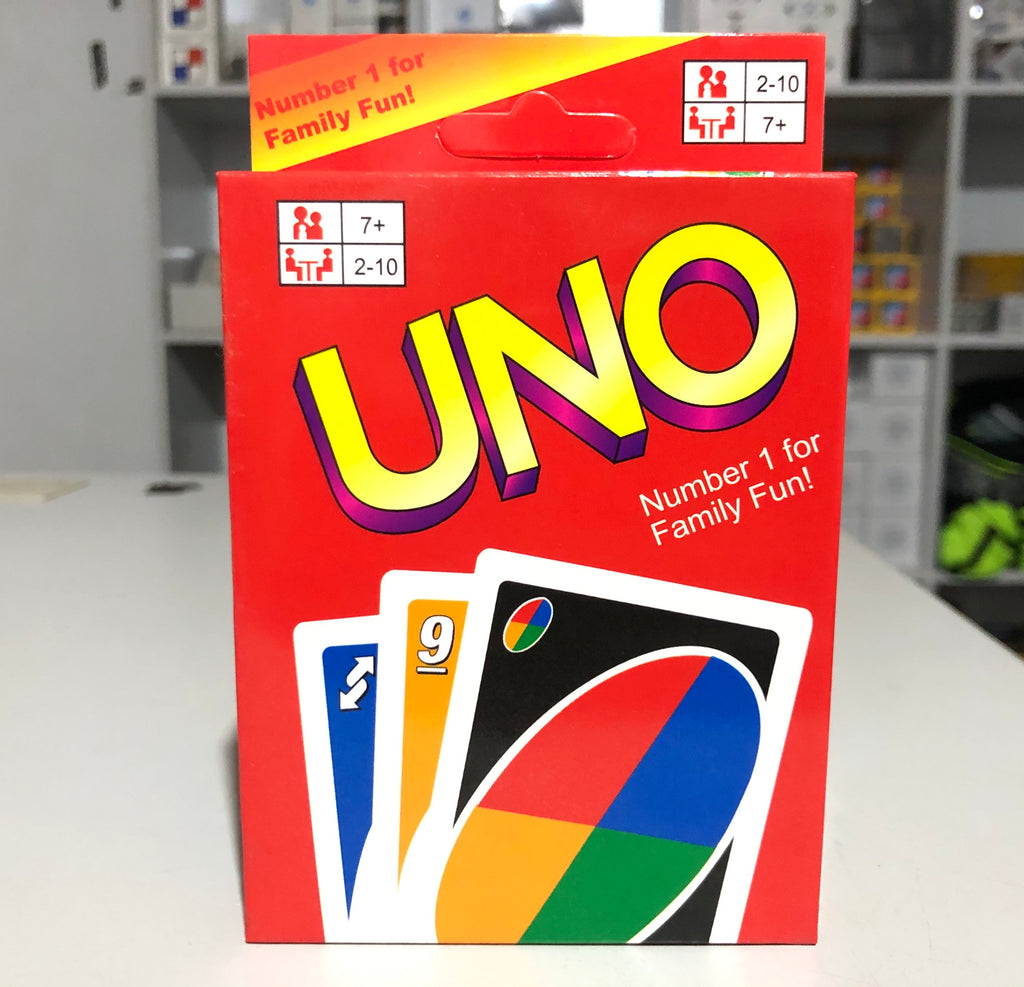UNO Solitaire Board game playing cards Family Fun Game