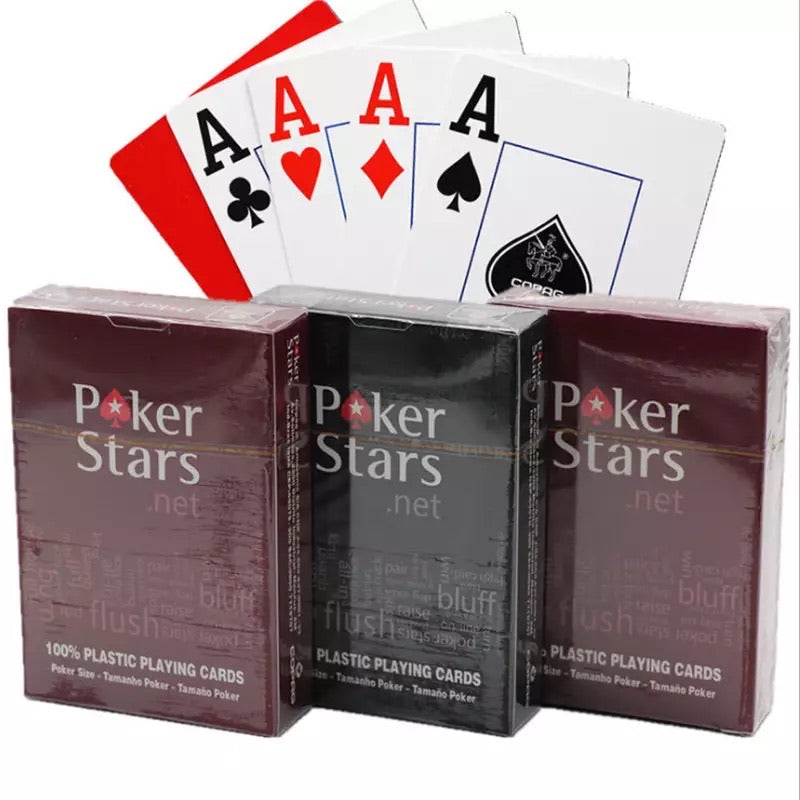1sets  playing cards plastic playing cards waterproof playing cards dull polish poker indoor family entertainment board games