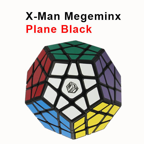 X-Man Galaxy Megaminx 3x3 - plane black
