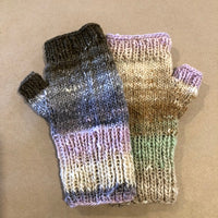 Handknit Fingerless Mitts