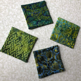 Coaster Set - Green