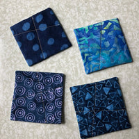 Coaster Set - Blue
