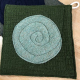 Potholder Set of 2 - Green