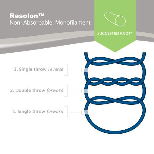 Resolon Non-Absorbable Monofilament Suture (OD13212) - Avtec Surgical
