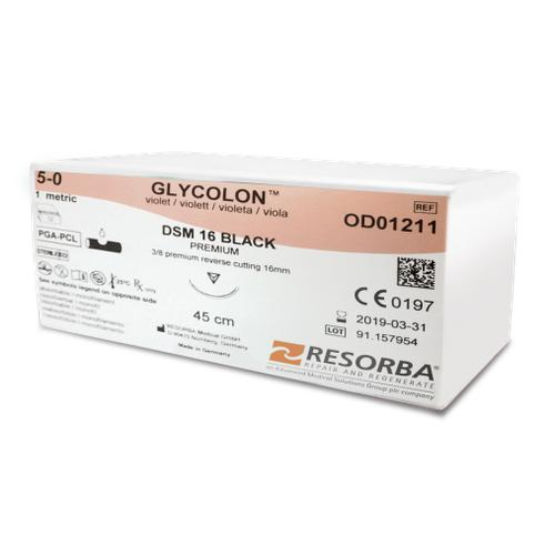 Glycolon Absorbable Monofilament Suture (OD01102 Micro) - Avtec Surgical