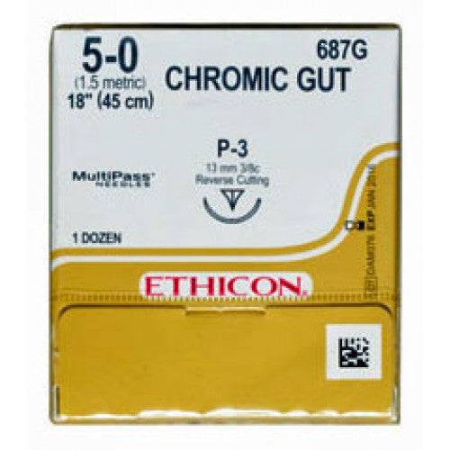 Ethicon Chromic Gut - 687G - Avtec Surgical