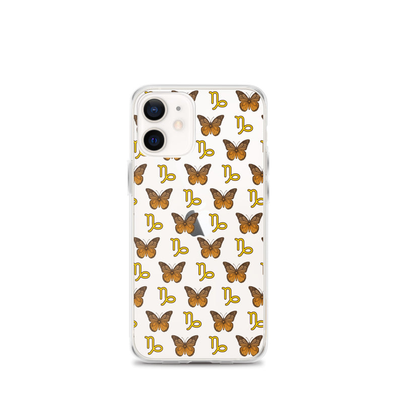Butterflies Capricorn iPhone Case