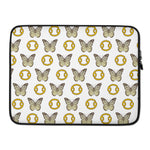 Butterfly Cancer Zodiac Signs Laptop Case